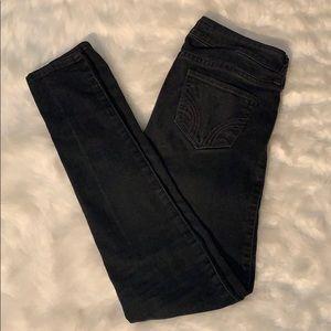 Pants - Hollister black skinny jeans